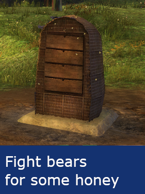Fight bears for some honey