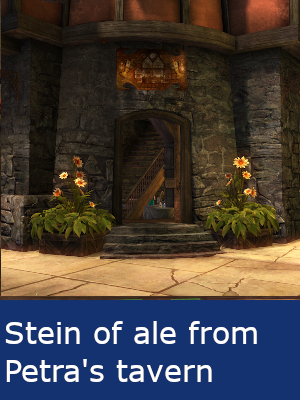 Stein of ale from Petra's tavern